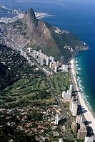 Morro Dois Irmãos Beach, Rocinha, São Conrado, Rio de Janeiro, Brazil