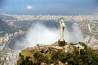 Cristo Redentor, Corcovado, Jockey Club, Leblon, Rio de Janeiro, Brazil
