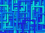Blue Rectangles