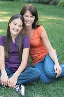 Teen Girl with Mother