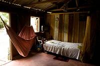 Room, Barreirinha Community, Monkey River, Amazônia, Manaus, Amazonas, Brazil