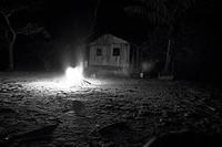 Bonfire, House, Santa Maria Ranch, Cuieiras River, Manaus, Amazônia, Amazonas, Brazil