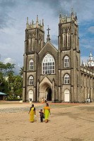 St. Andrew´s Forane Church at Arthunkal near Cherthala, Kerala, India. St. Andrew´s Forane Church (1579 A.D)of Arthunkal is an important pilgrim centr...