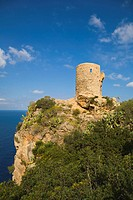 Coastal watchtower Estellencs, Mallorca, Spain