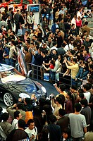 Crowds during Shanghai Auto Show, Shanghai, China
