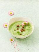 Nine herb soup a spring tonic
