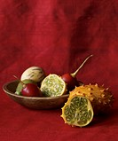 Bowl of Extic Fruit, Prickly Pear