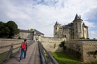 France. Loire Valley. Saumur. Castle