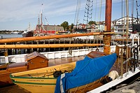 Deck of the Bluenose II, Lunenburg, Nova Scotia, Canada
