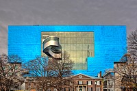 Rear wall of Art Gallery of Ontario, Toronto, Ontario, Canada