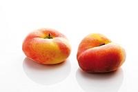 Chinese flat peaches (Prunus persica var. platycarpa)