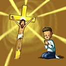 Christian Image, Jesus And Believer