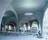 TAMA ART UNIVERSITY LIBRARY, TOKYO, JAPAN, Architect TOYO ITO