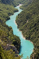 Verdon river, Gorges du Verdon, Provence, France