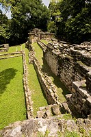 Yaxchilán archaeological site. Usumacinta river. Lacandon Forest. Chiapas. Mexico.