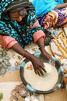Mali, Bourem, market