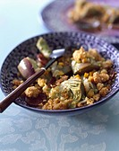 Artichoke crumble (thumbnail)