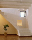 Stairs inside a villa