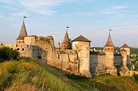 Castle, Kamianets-Podilskyi, Khmelnytskyi Oblast, Ukraine