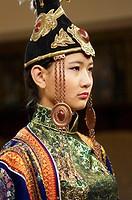 Mongolia. Ulaan Bator. Fashion show at Torgo house.
