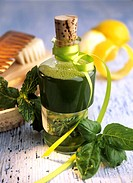 Basil shampoo with mint