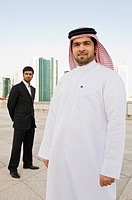Portrait of middle eastern businessmen