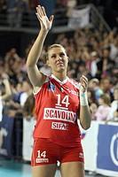 martina guiggi,treviglio 2009 , volley champions league 2008/2009 , foppapedretti bergamo_scavolini pesaro