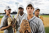 Portrait of a baseball team