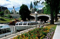 Rideau Canal, Ottowa, Canada. A world heritage site.