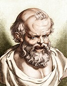 Democritus of Abdera 470_400 BC, Greek philosopher and the father of atomic theory. Democritus published works on ethics, physics, mathematics, cosmol...