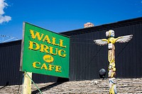 The legendary Wall Drug Store from 1931, South Dakota, USA, 2008
