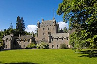 Cawdor Castle near Inverness. Northern Highlands, Scotland, UK