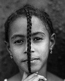 Portrait of a local girl, Cape Verde