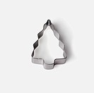 Close_up of a tree shaped cookie cutter