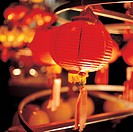 Red lantern, close up