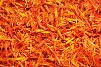 Saffron, full frame