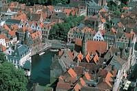 Belgium - Flanders - West Flanders - Bruges (Brugge). View