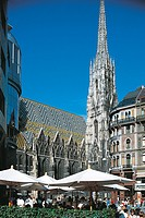 Austria - Vienna. Historic centre (UNESCO's World Heritage Site, 2001). Austria - Vienna. Historic centre (UNESCO's World Heritage Site, 2001). Saint ...