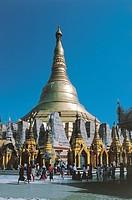 Myanmar - Yangon (Rangoon) - Shwedagon Pagoda