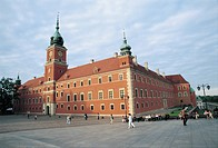 Poland - Mazowieckie voivodship - Historic Centre of Warsaw (UNESCO World Heritage Site, 1980). Royal Castle (Zamek)