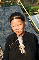 Portrait of a Lantern Yao woman