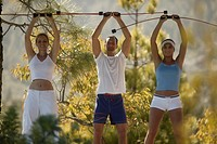 Athletes, training_appliance, Flexibar, fitness, outside