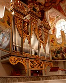Germany, Bavaria, Freising, cathedral St. Maria and St. Korbinian, organ, Upper Bavaria, Marie_cathedral, cathedral, organ_brochure, church organ, win...