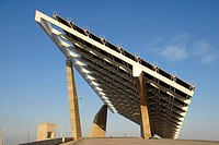 Photovoltaic pergola 3700 m2, Forum 2004  Barcelona  Spain