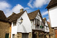 Church Street, Lacock Village, Cotswolds District, Wiltshire County, England