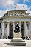 Velazquez Sculpture, Prado Museum, Madrid, Spain