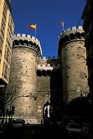 Valencia, the torres de Cuarte