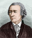 Leonhard Euler 1707_1783, Swiss mathematician. Euler developed the theory of differential equations, the calculus of variations, and did important wor...