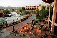 Sunset at Sheraton Wild Horse Pass Resort & Spa, Phoenix, Arizona, United States