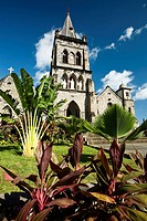 Catholic Cathedral, Roseau, Dominica, West Indies, Caribbean